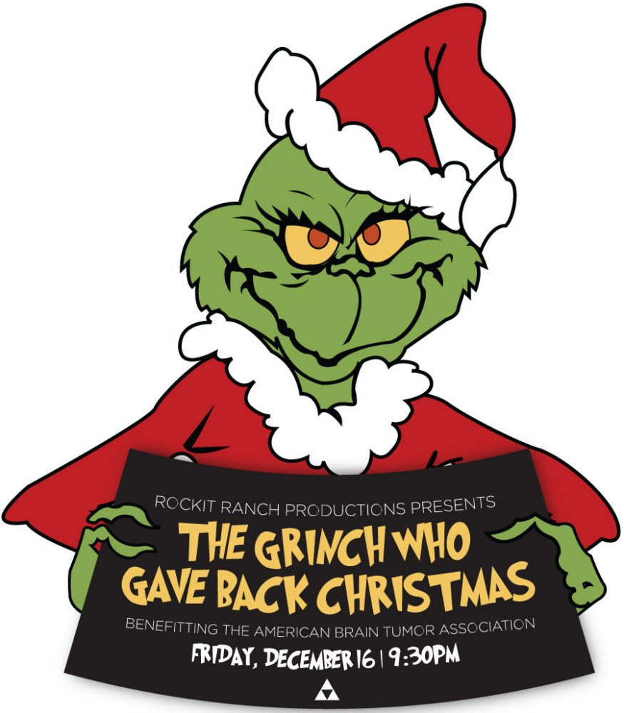Grinch Christmas Fourth annual grinch who gave