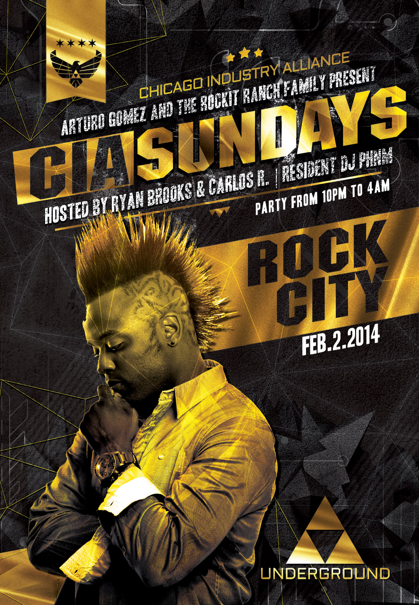 Chicago Industry Alliance with DJ Rock City