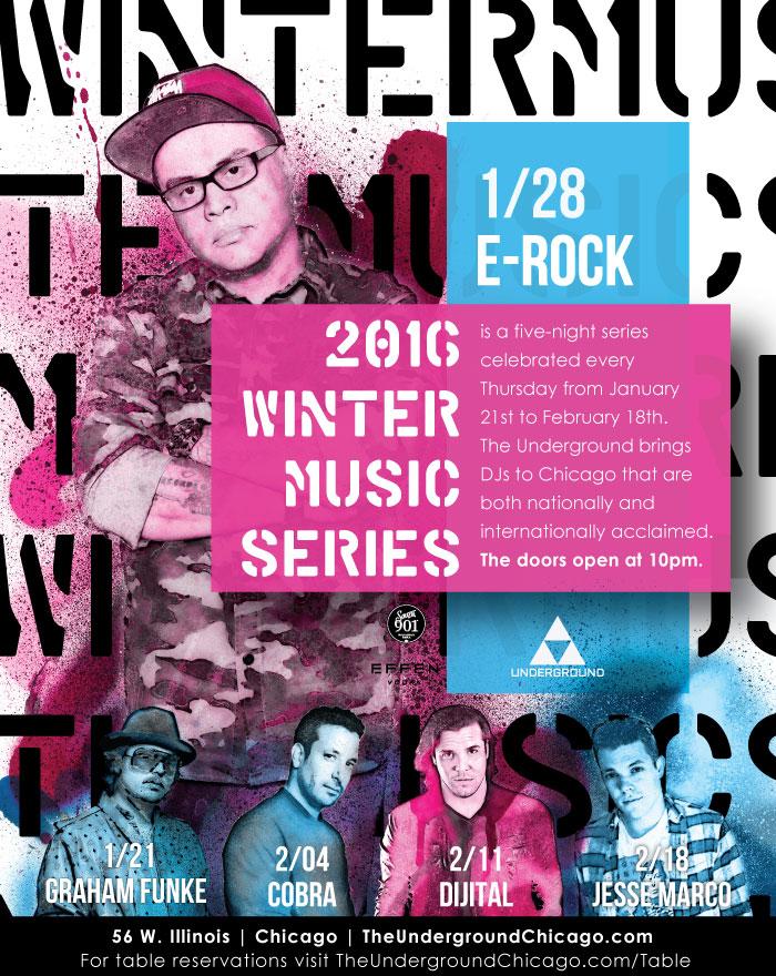 Winter Music Series Event featuring DJ E-Rock