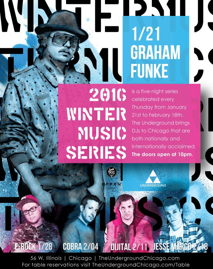 Winter Music Series Event featuring Graham Funke