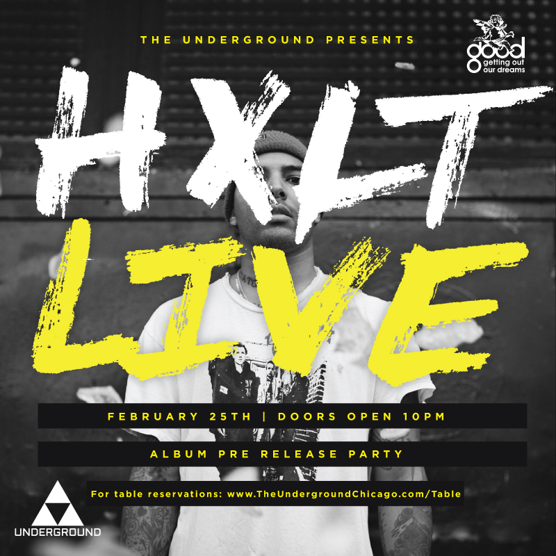 HXLT Pre Album Release Party