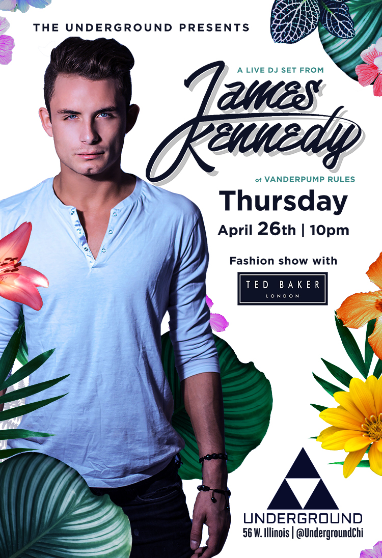 Spring Style Series with James Kennedy and Ted Baker
