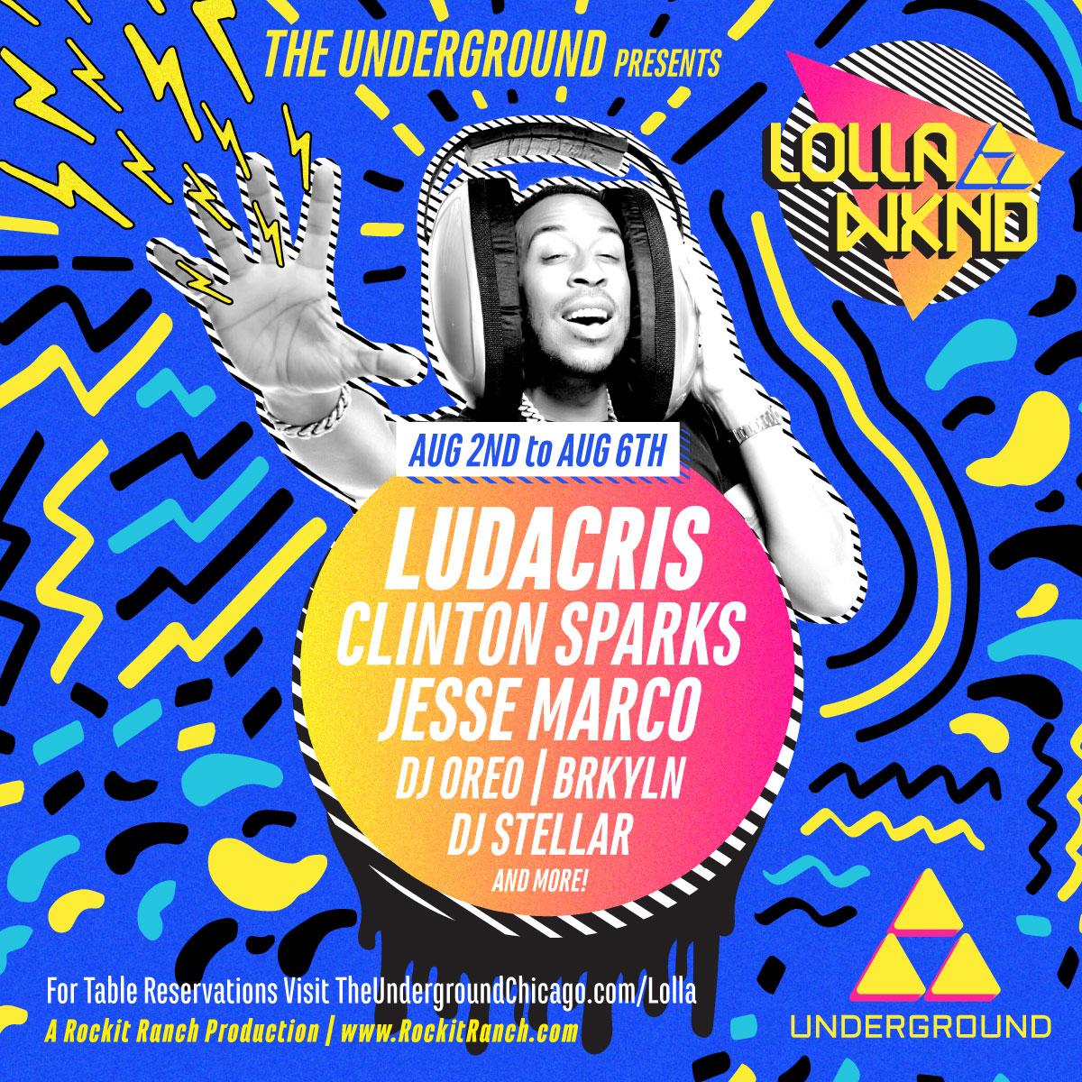 Lolla Wknd with Ludacris