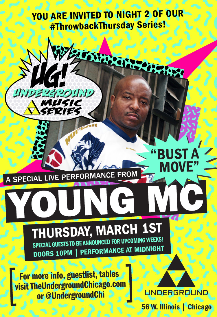 Throwback Music Series featuring Young MC!