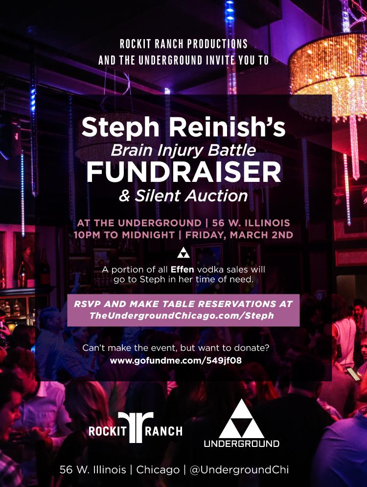 Steph Reinish's Brain Injury Battle Fundraiser
